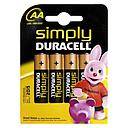 360169 P/4 PILAS DURACELL SIMPLY LR-06 AA__